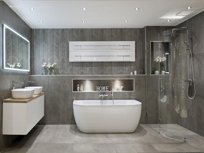 Badkame Voor Woonplaats : Badkamer stukadoor arnhem